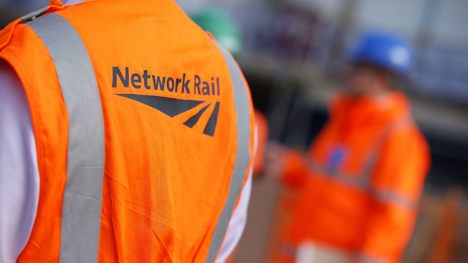 Network Rail is carrying out the works