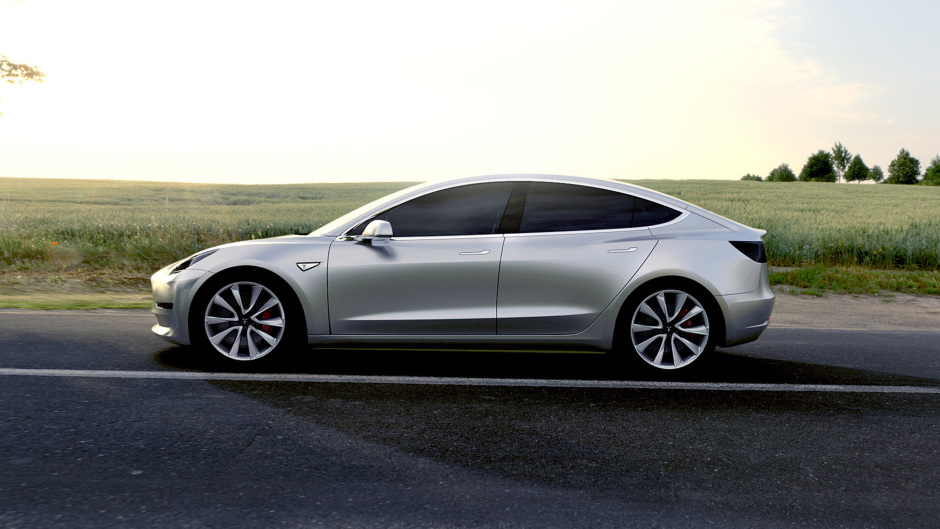 The showroom will be Tesla's first outside of the central belt