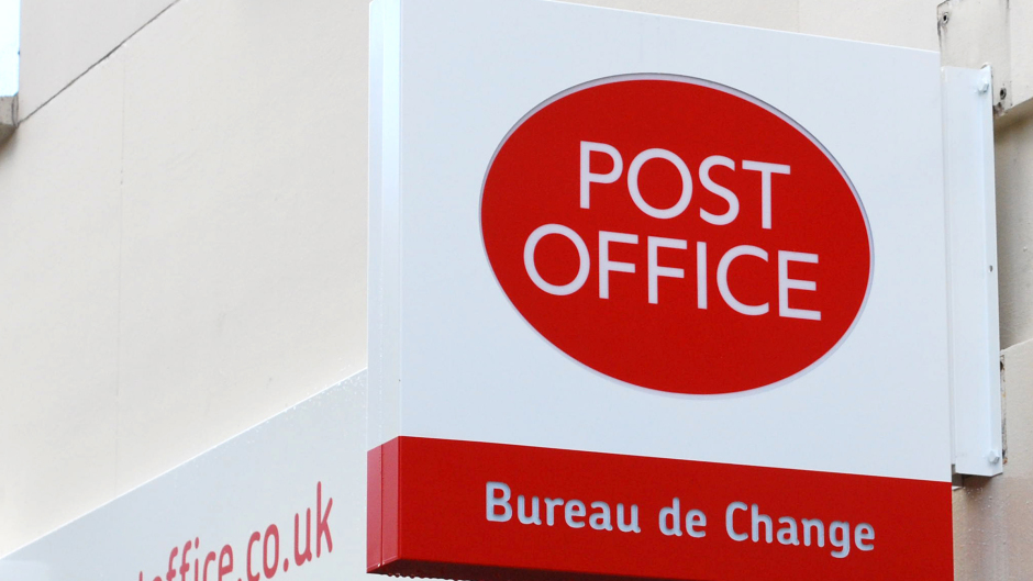 The Post Office in Drumoak has closed