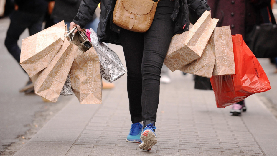A new survey claims one in five people in Aberdeen will do their shopping on Christmas Eve