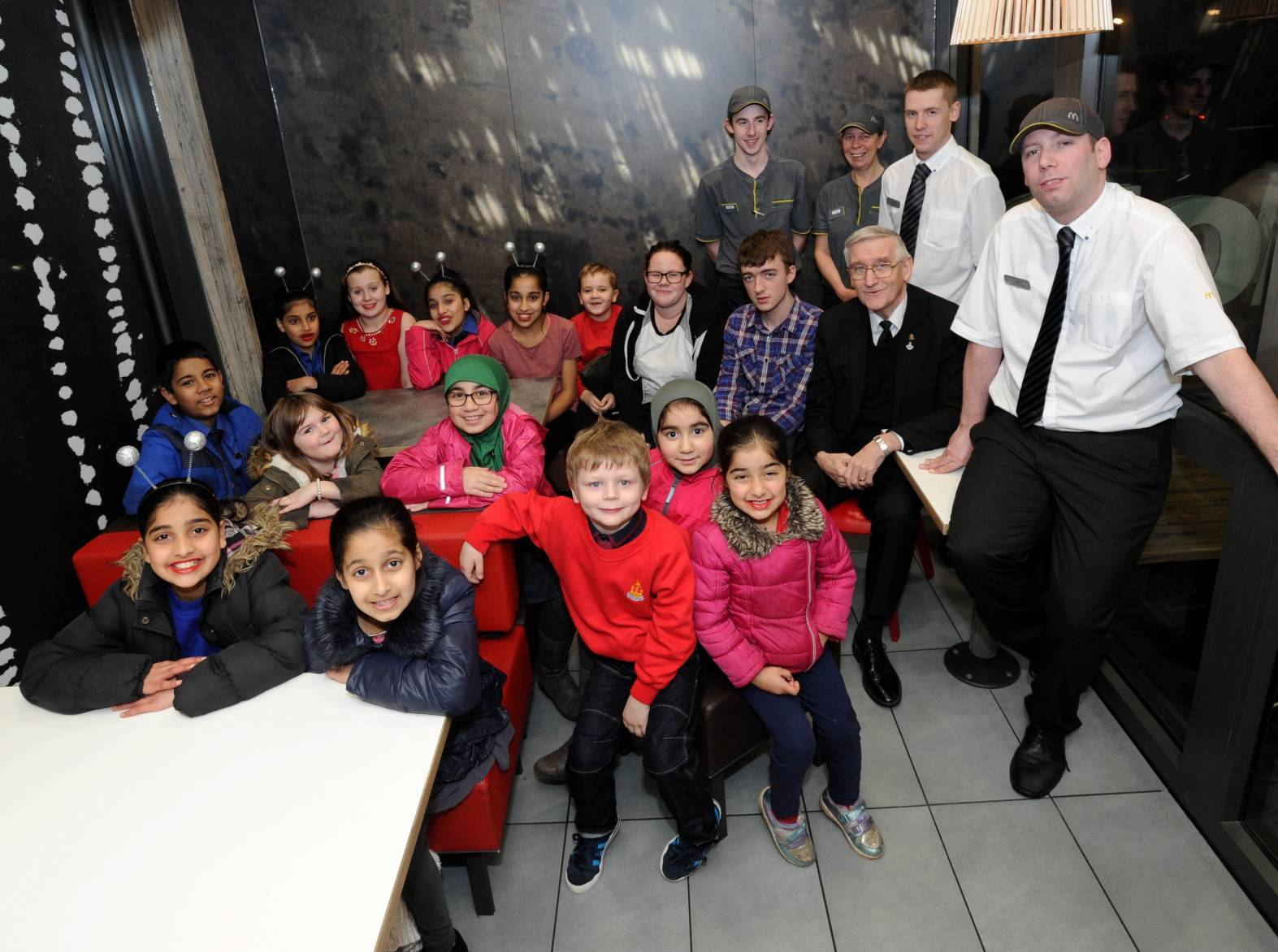 Kittybrewster Boys Brigade have been meeting in McDonald's