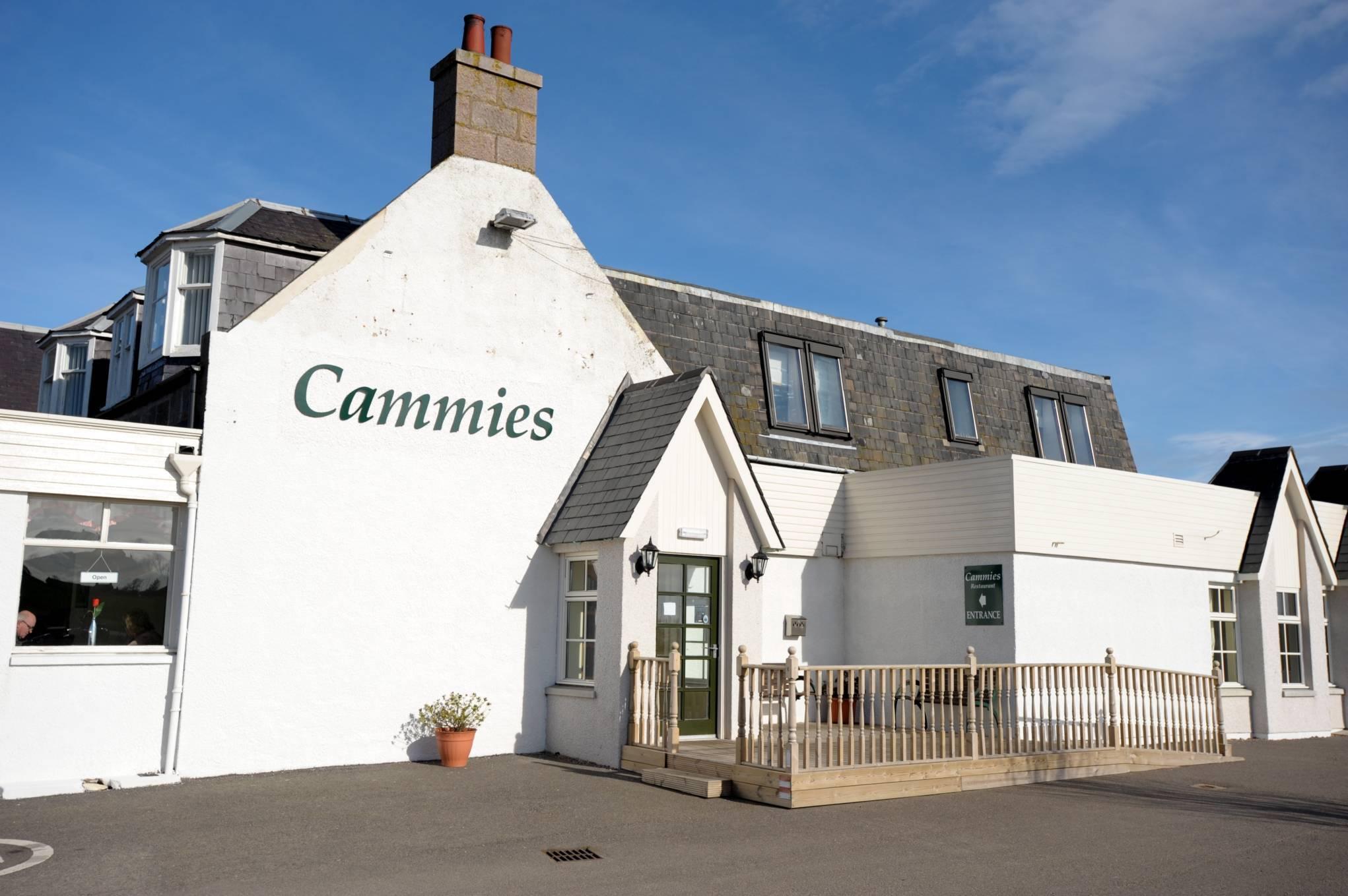 Cammies Restaurant in Cammachmore