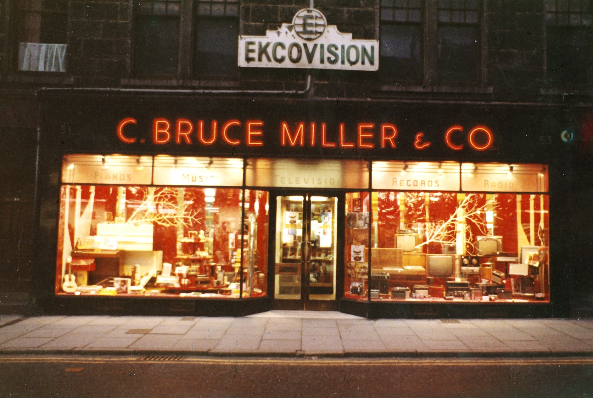 The store originally opened on George Street before moving to Union Street