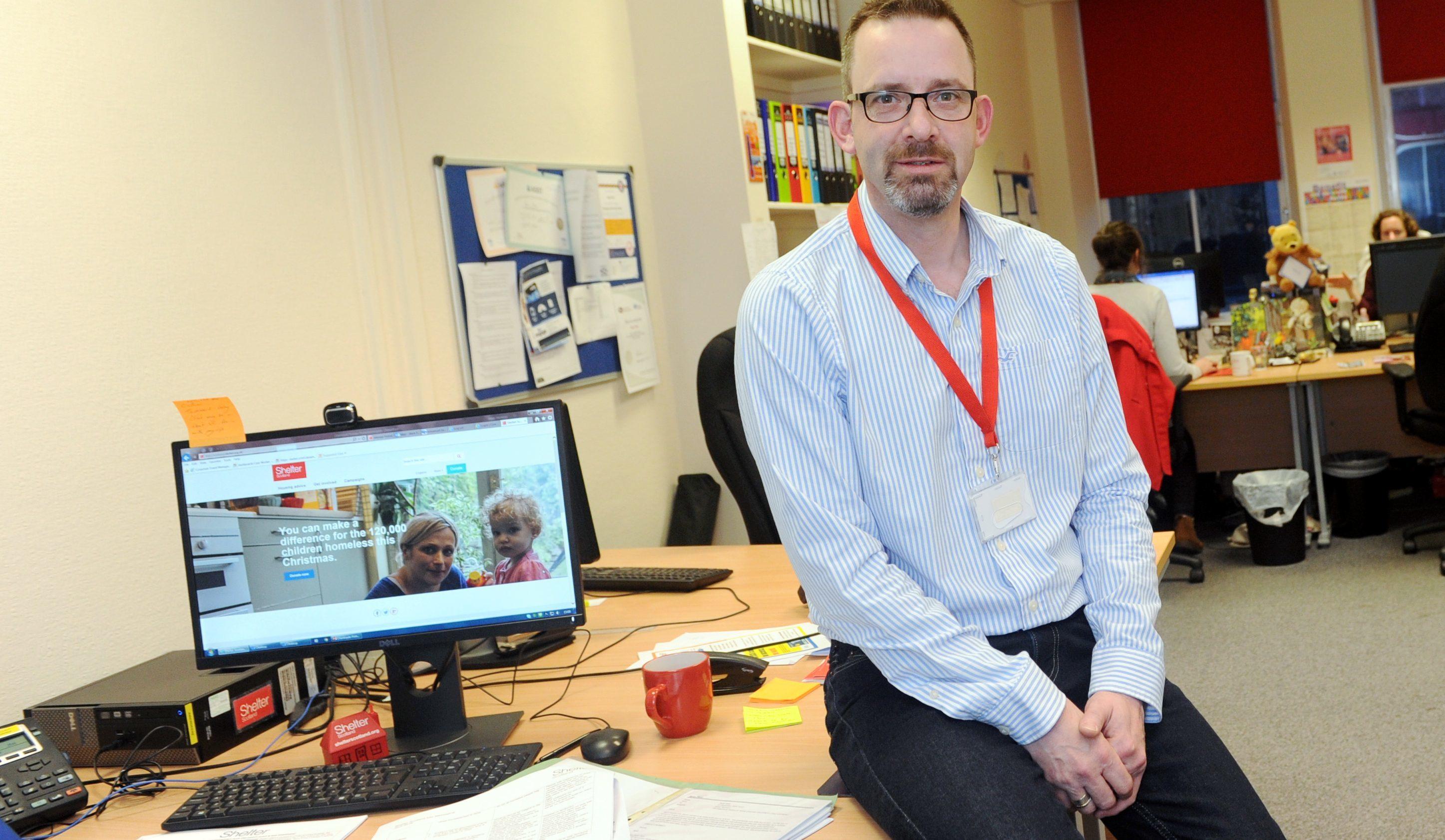 Mark has been visiting schools to help children understand homelessness.