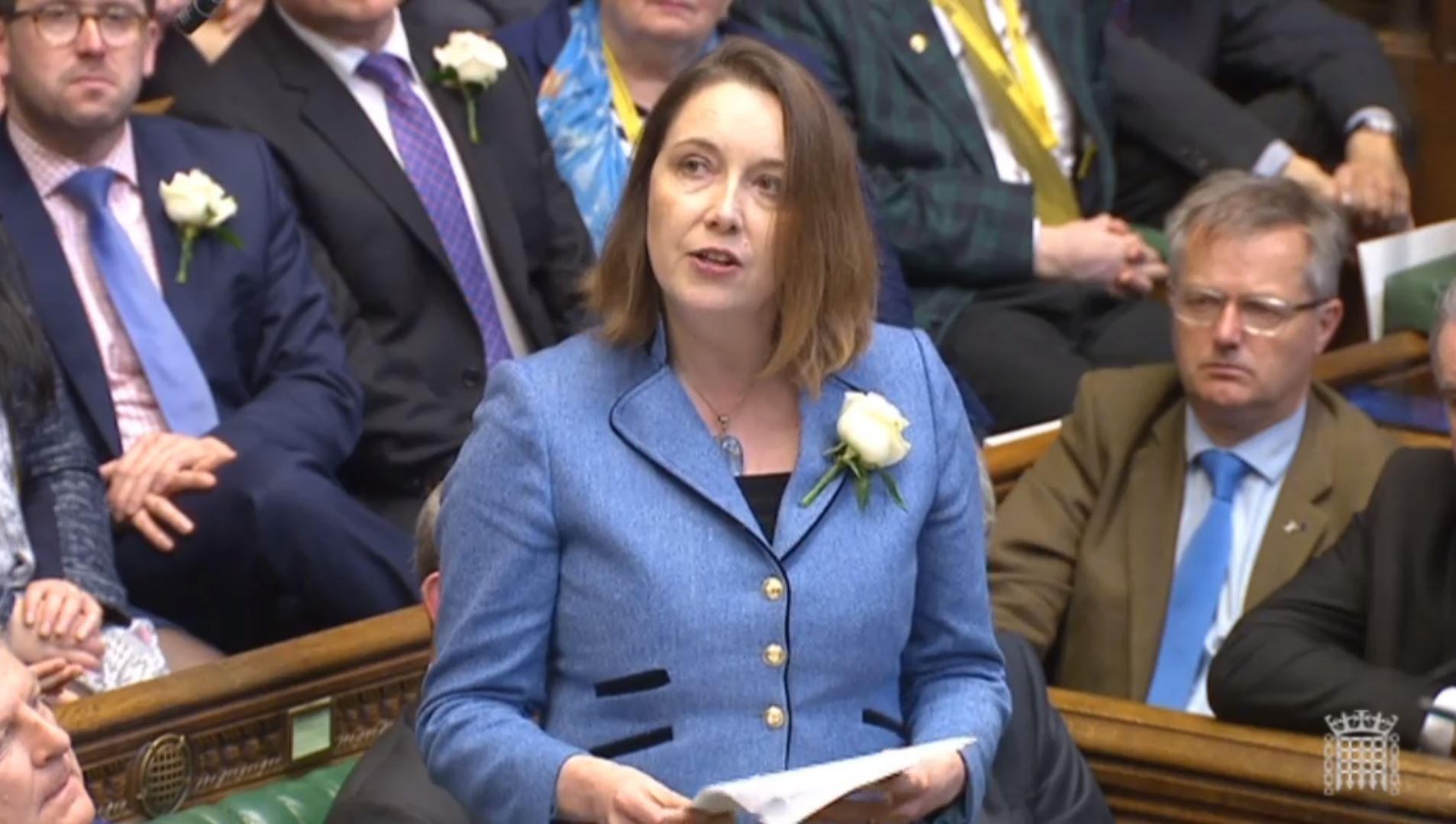Eilidh Whiteford in the House of Commons.