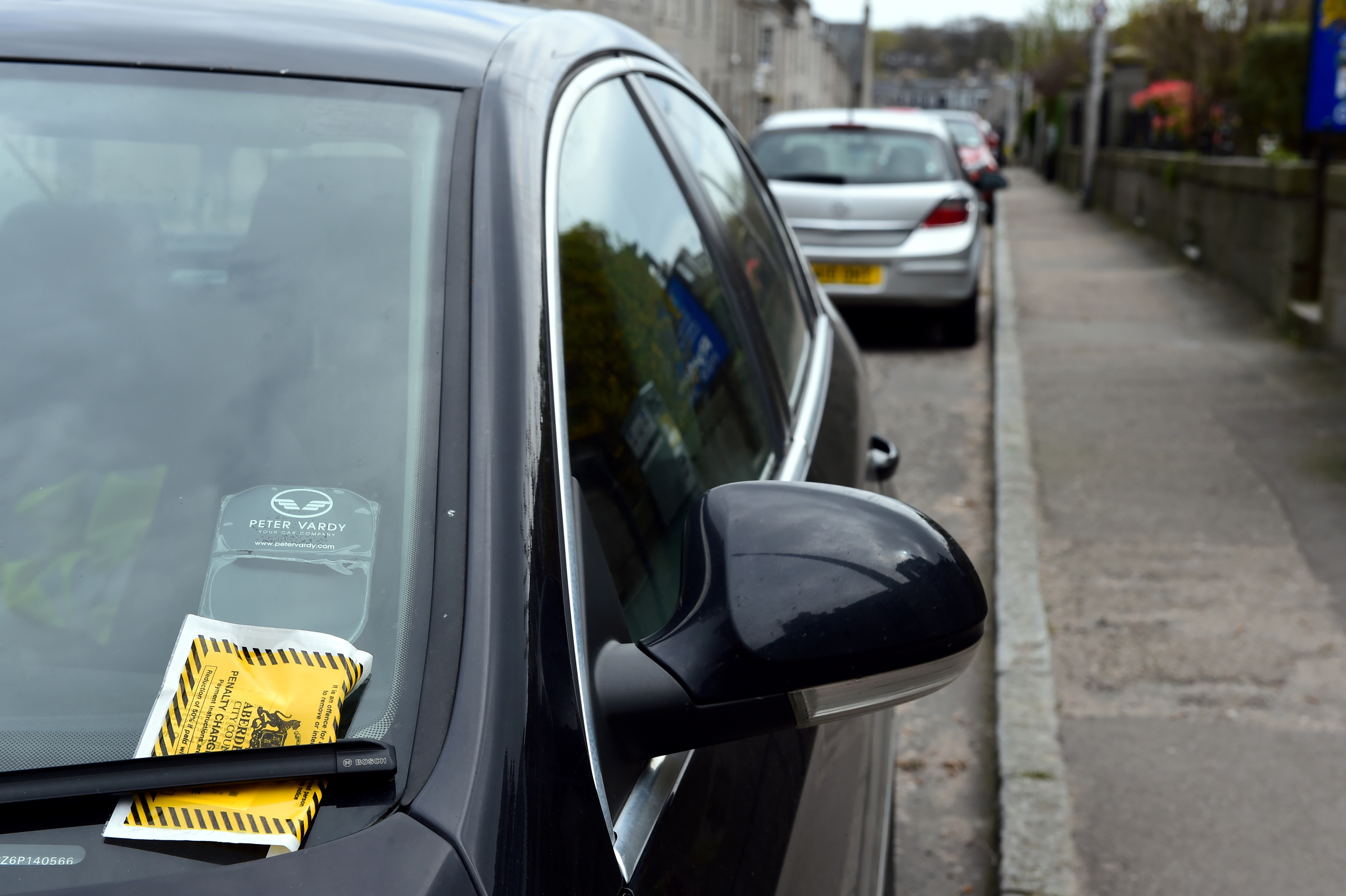 More than £8.3m was estimated to be brought in through parking charges and bus lane fines for Aberdeen City Council