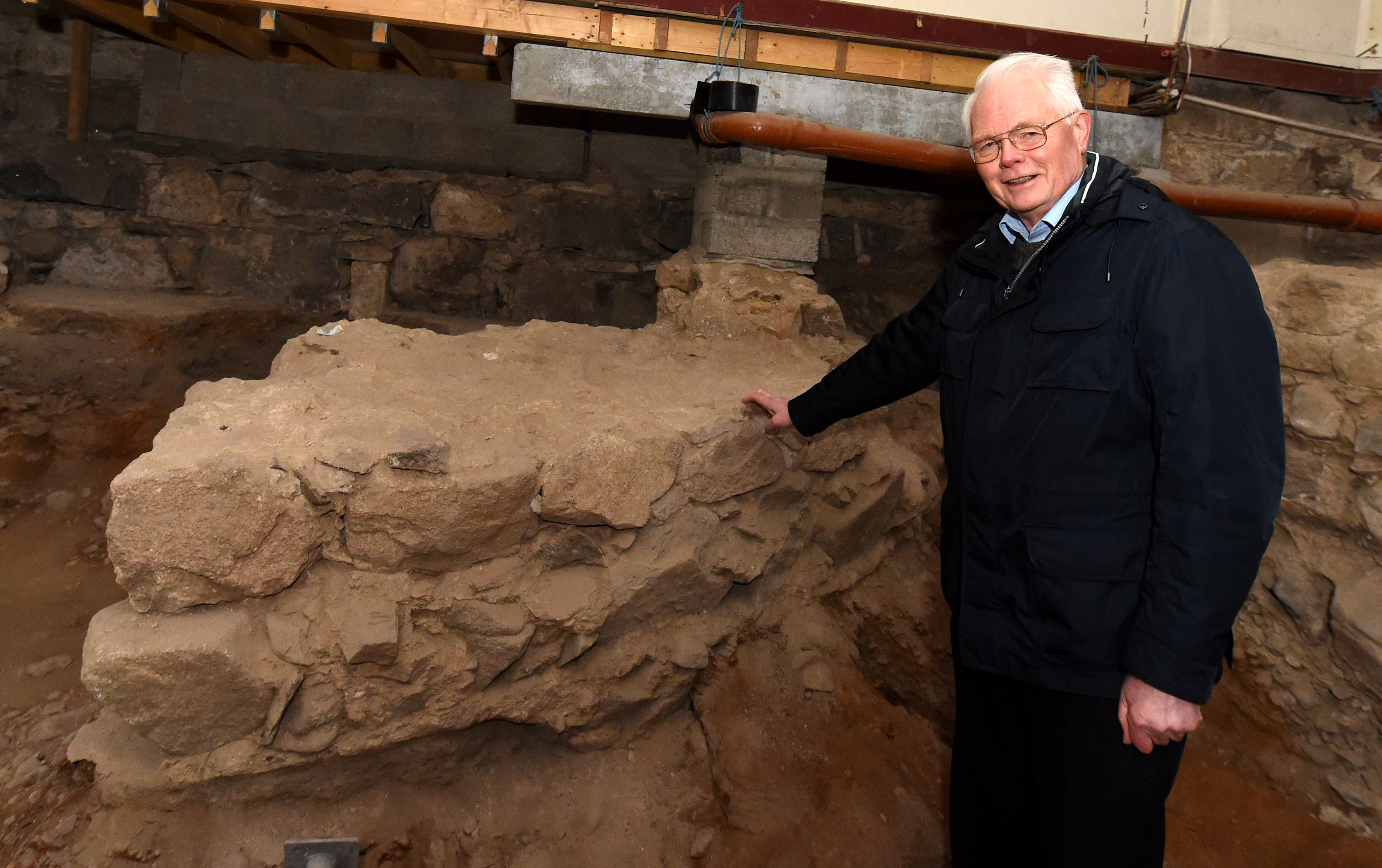 Church elder Arthur Winfield has been involved in the Mither Kirk project since 2003.