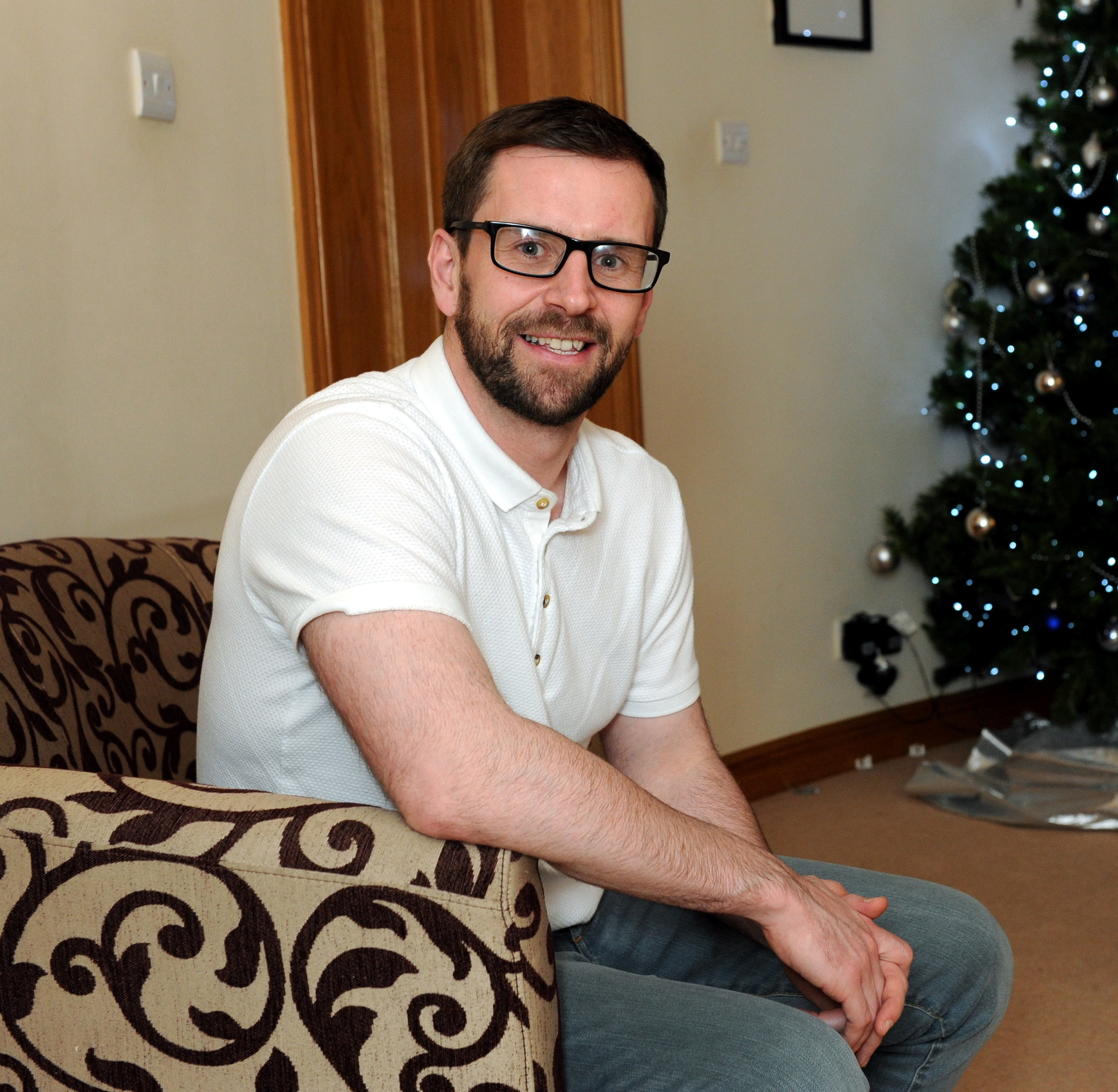 Support worker and PR co-ordinator Paul Beaton.