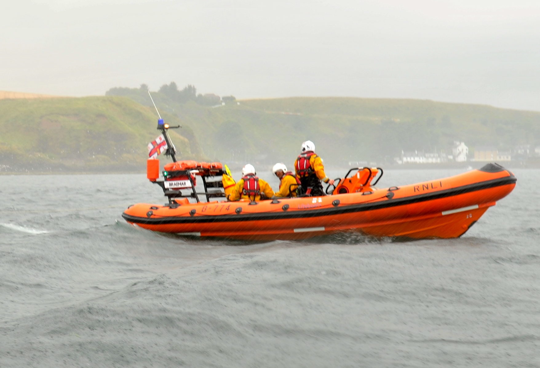 Stonehaven RNLI is urging people to exercise caution when visiting the coast.