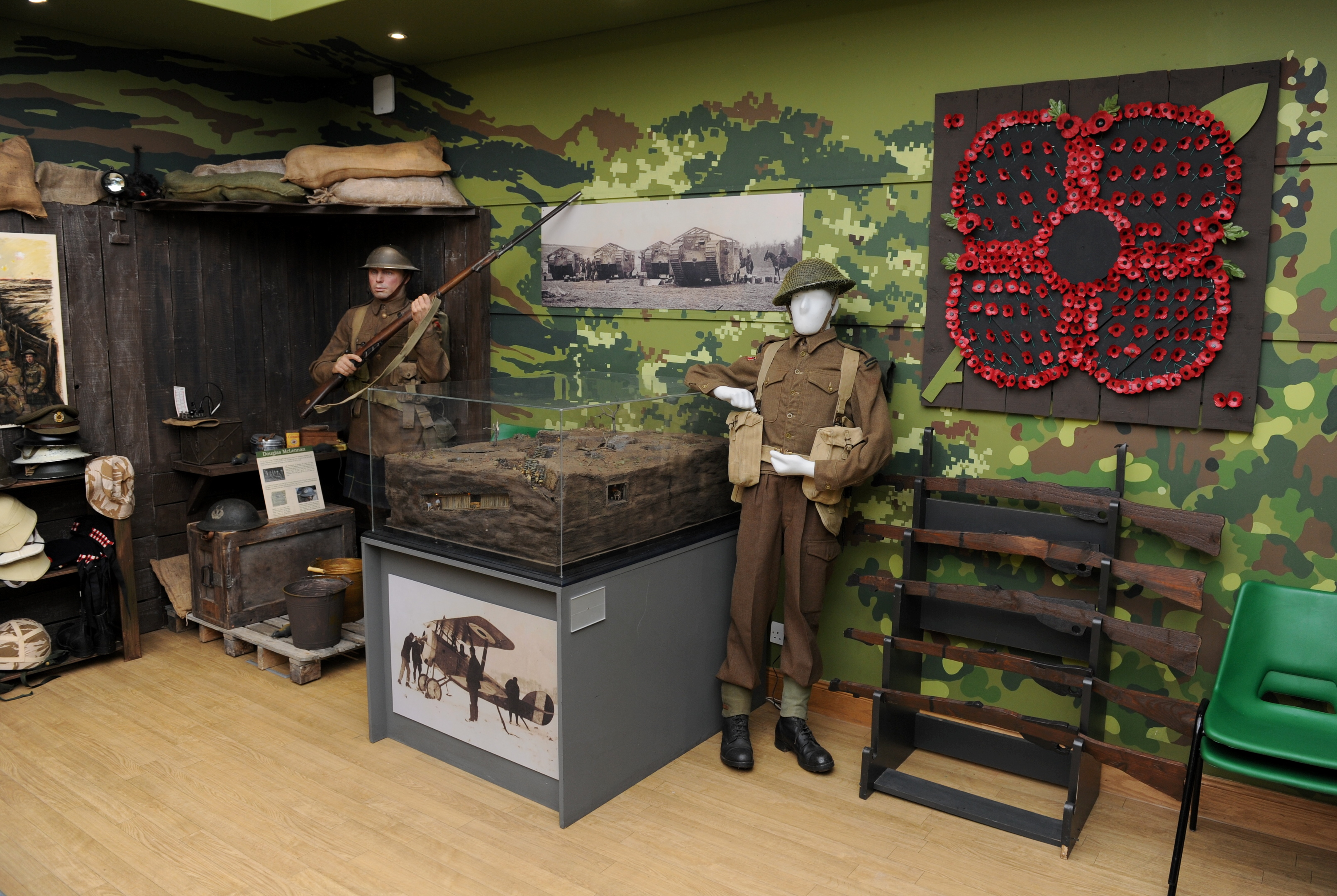 The Gordon Highlanders Museum.