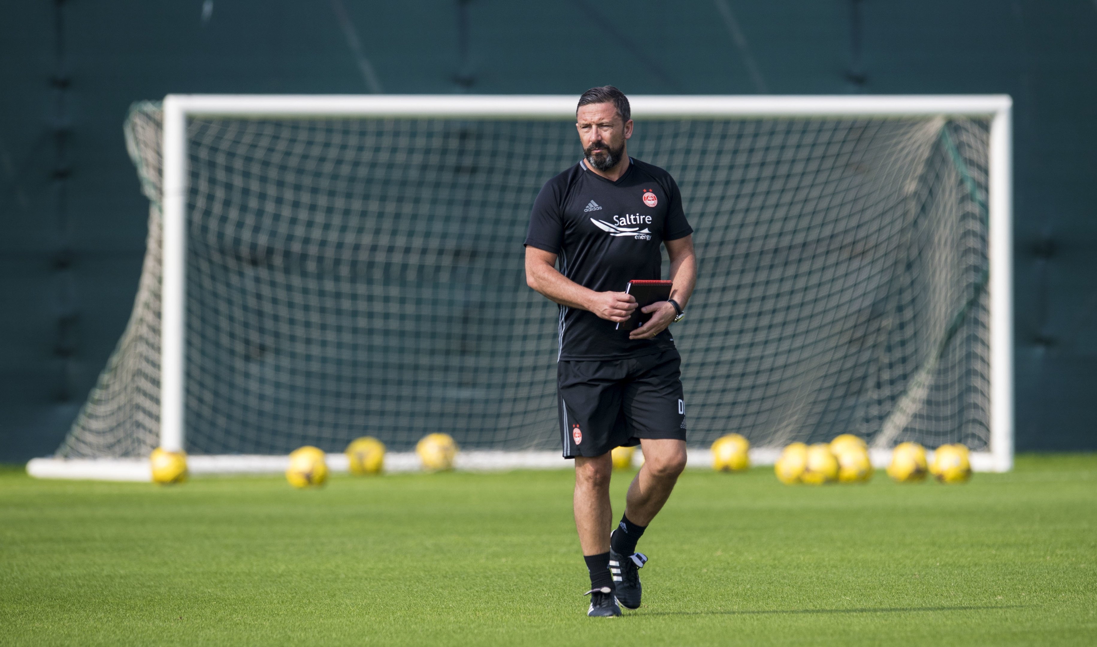 Derek McInnes is with the Dons in Dubai.