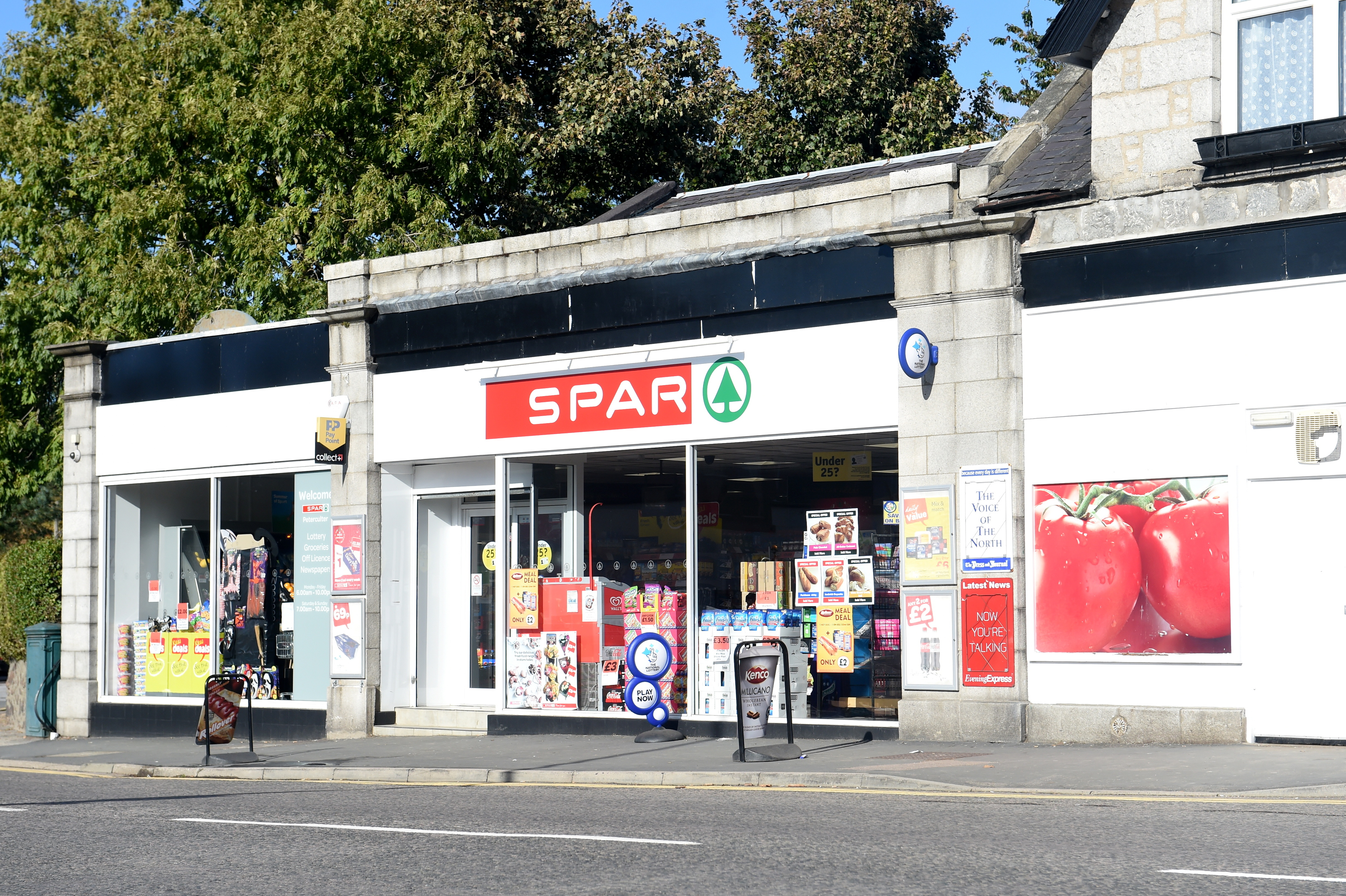 The Spar on North Deeside Road, Culter.