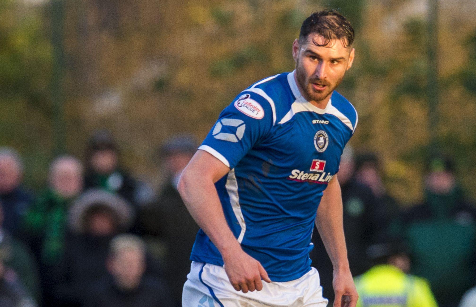 Stranraer defender Scott Robertson is not looking too far ahead.