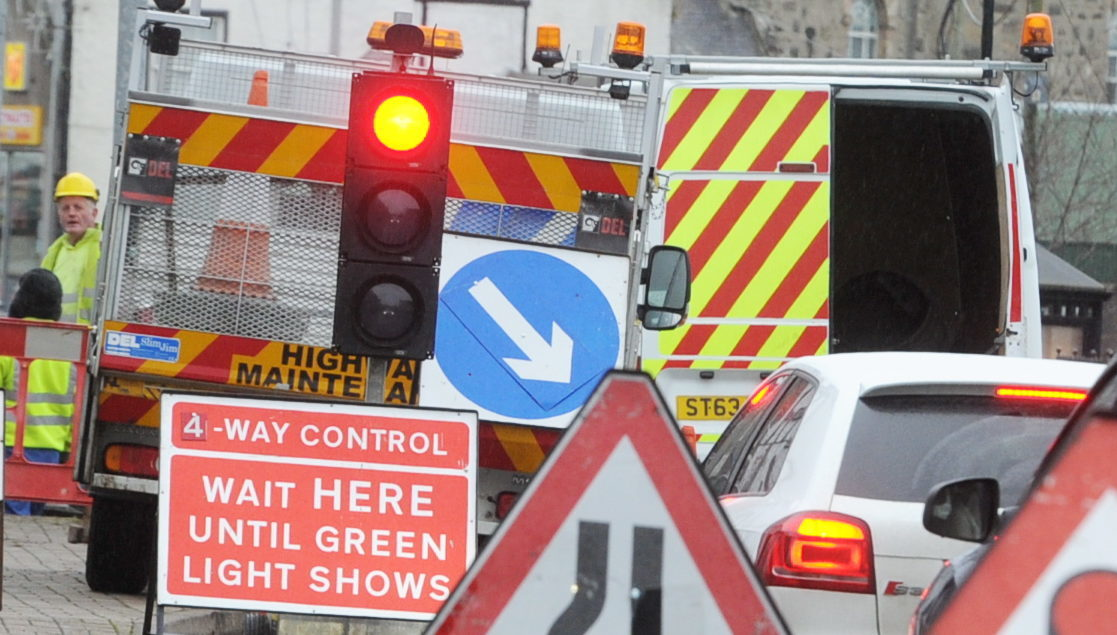 Road users may suffer delays