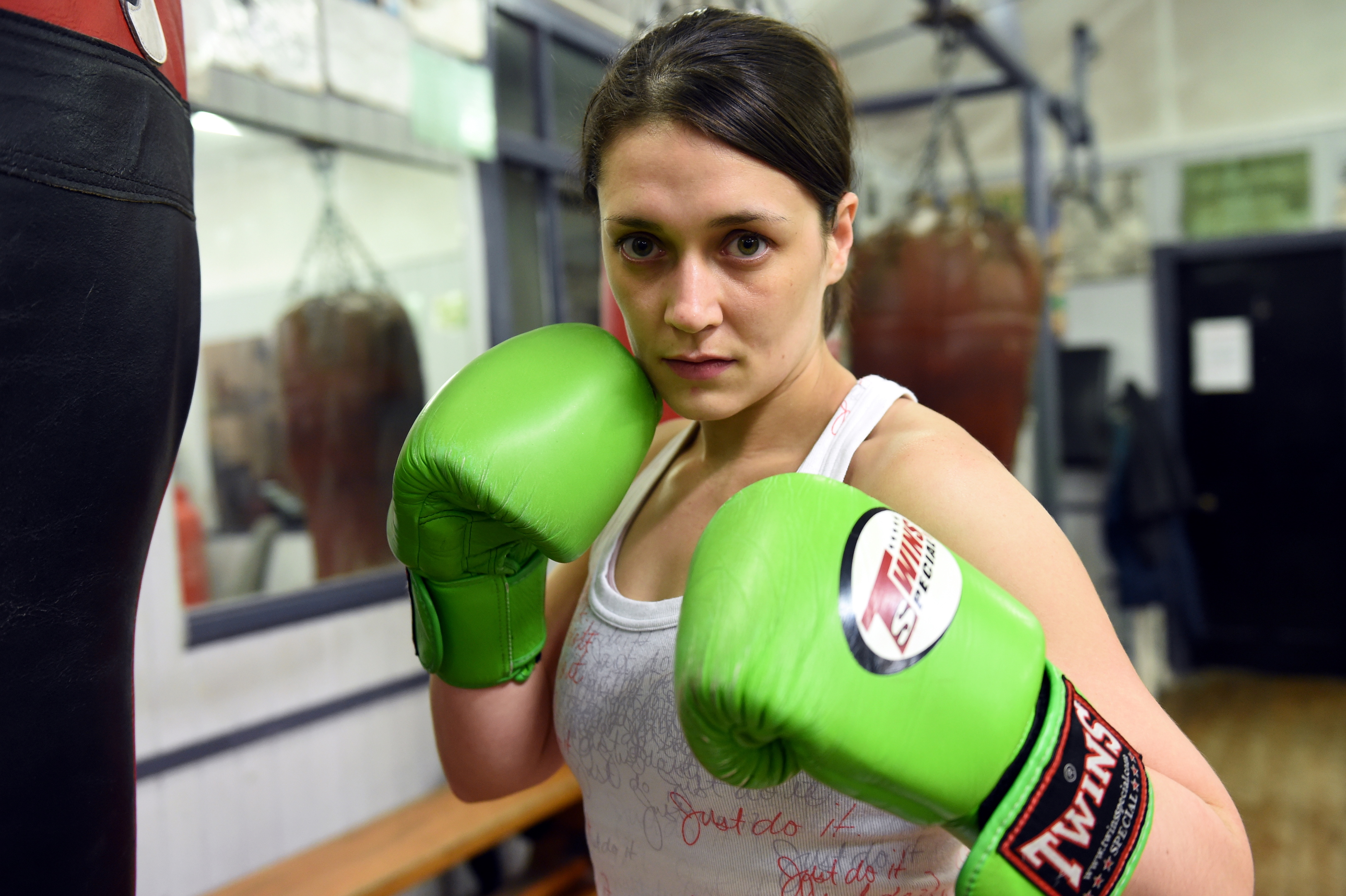 BALLROOM BATTLE: Aberdeen boxer Kristen Fraser. picture by darrell benns
