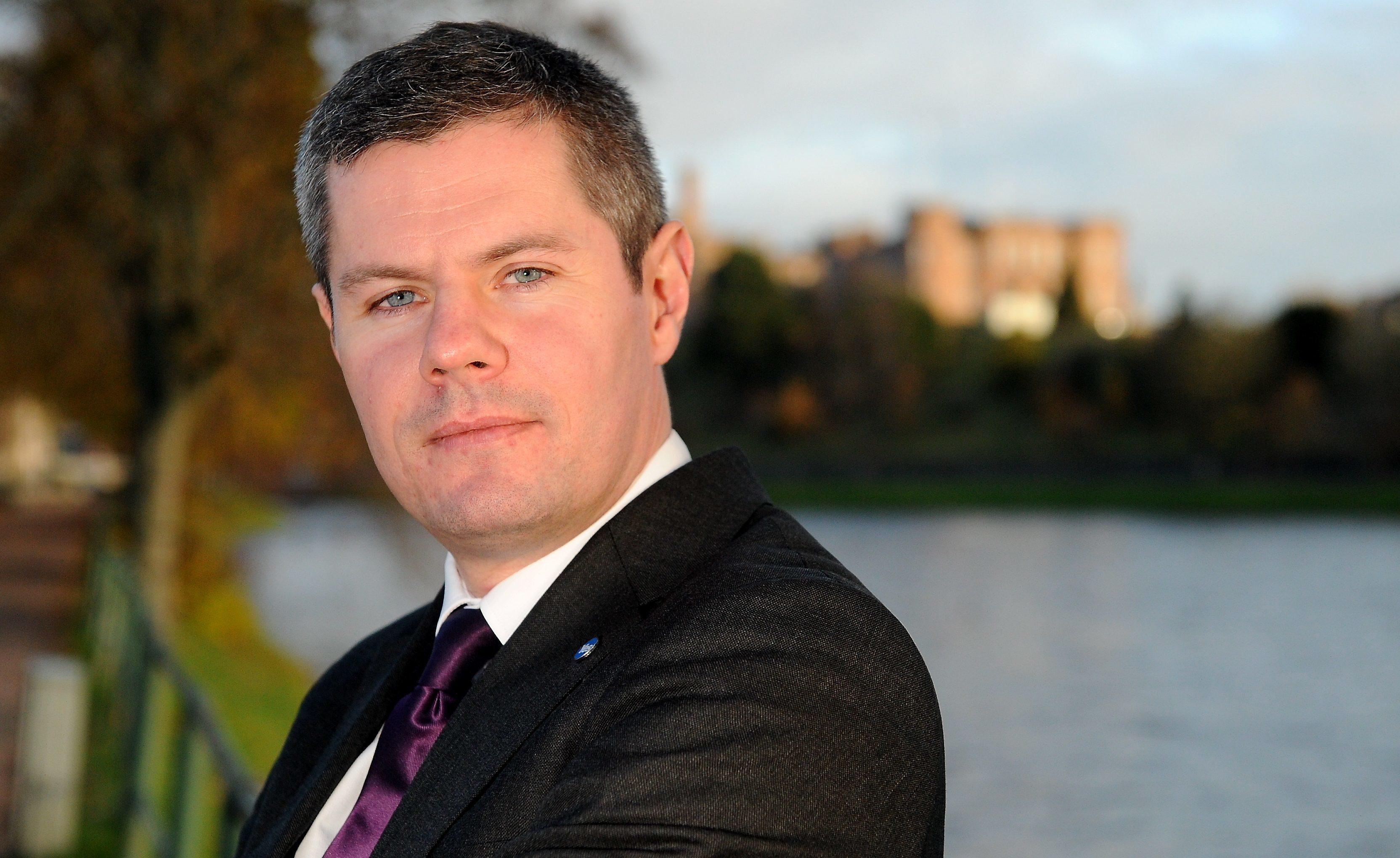 Scotland's Finance Secretary Derek Mackay will be in the city on Friday.
