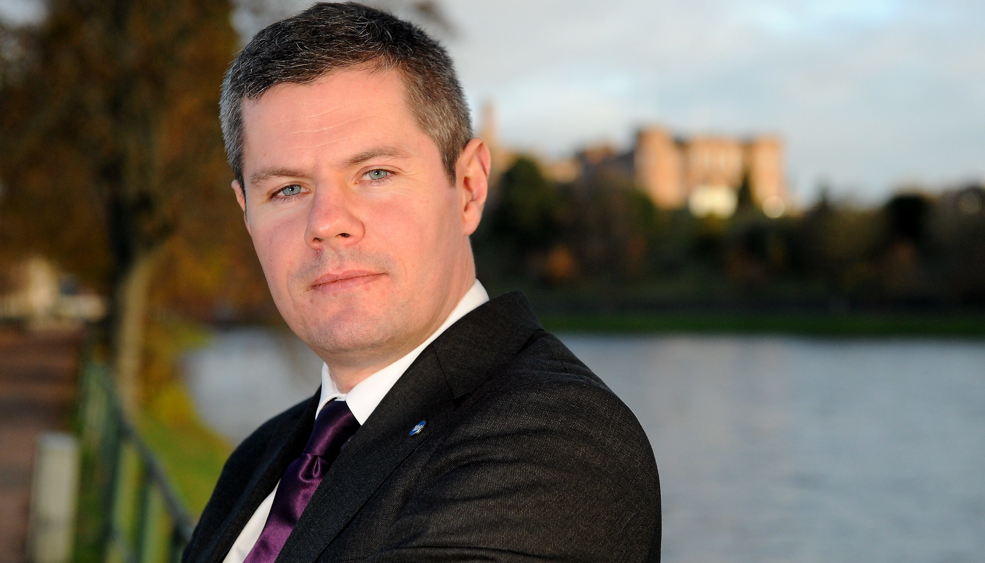Finance Secretary Derek Mackay intends to raise business rates.