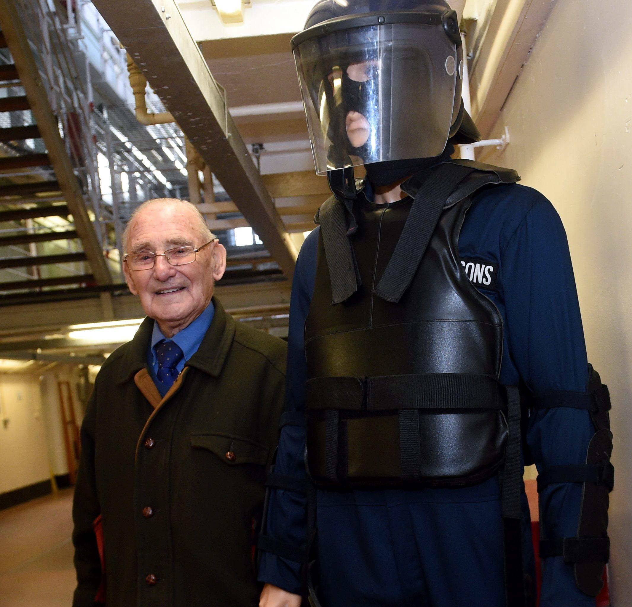 riot: Former warden Jackie Stuart