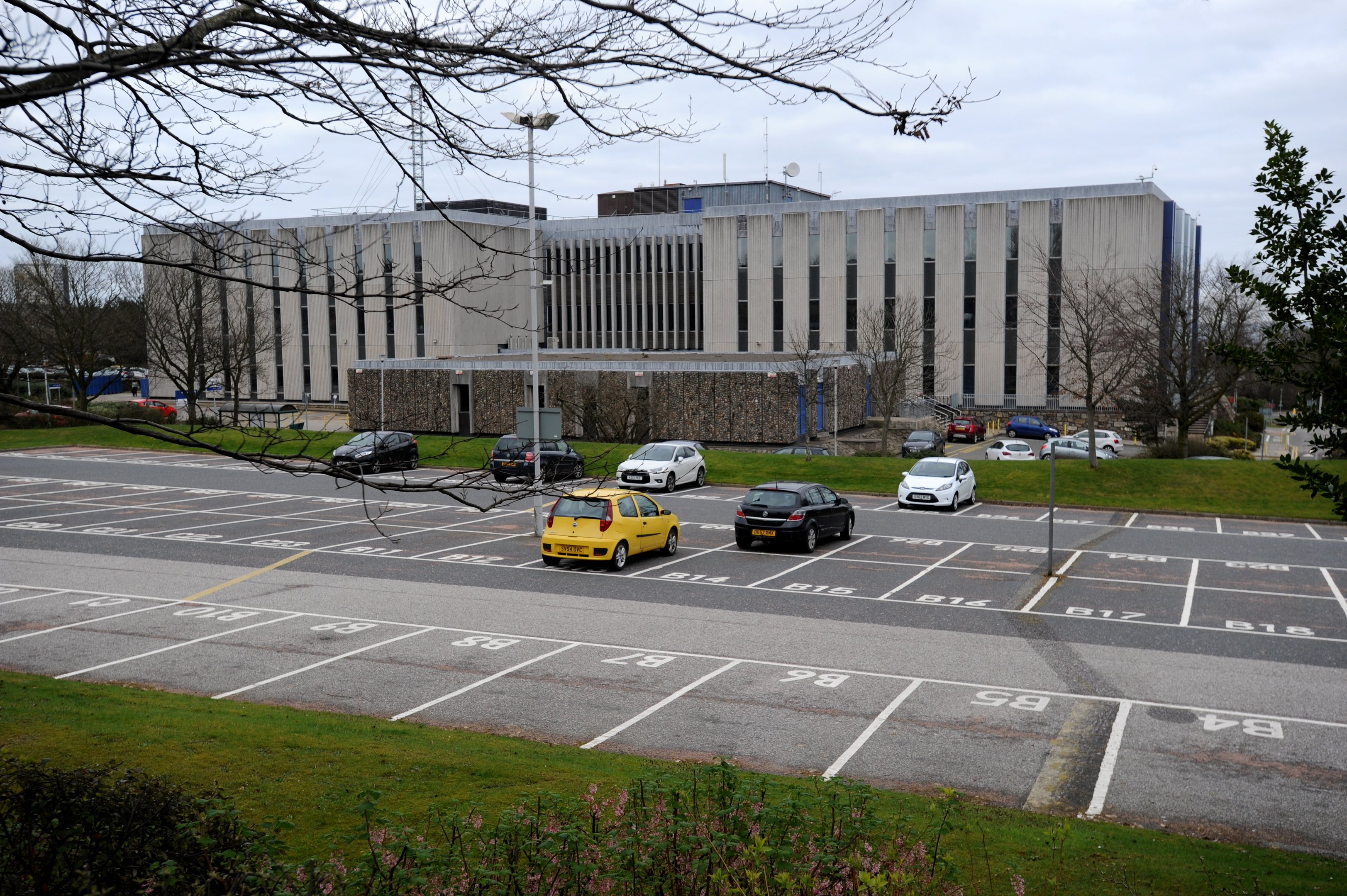 Woodhill House, Aberdeenshire Council headquarters.