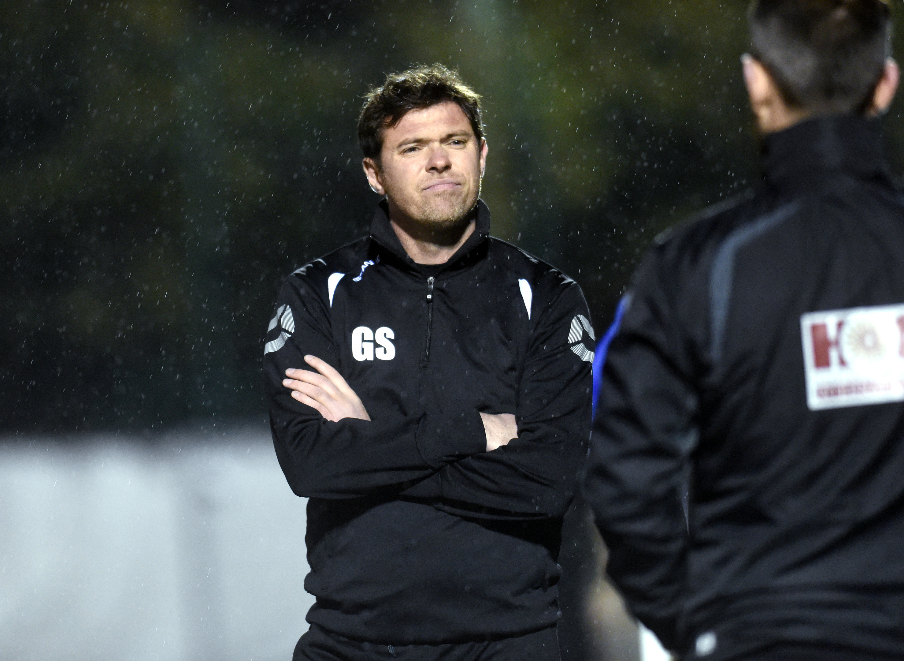 Buckie boss Graeme Stewart.