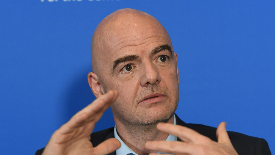 Fifa president Gianni Infantino has pushed through an expanded World Cup.
