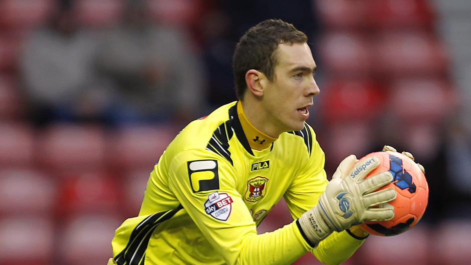 Greg Fleming starred in the penalty shootout