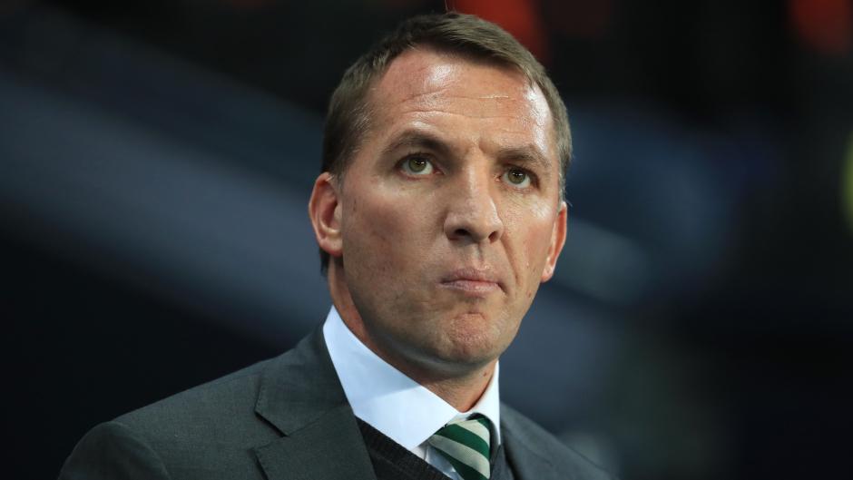 Celtic boss Brendan Rodgers.