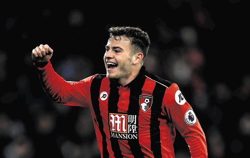 Ryan Fraser has hit top form with Bournemouth in recent weeks.