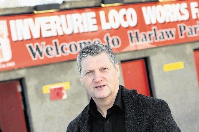 Neil Cooper has been named Inverurie Locos boss.
