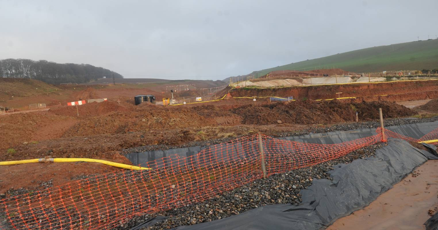 The AWPR works at Stonehaven.