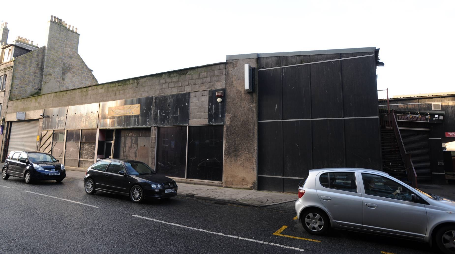 Ambassador Snooker Club on John street, Aberdeen.