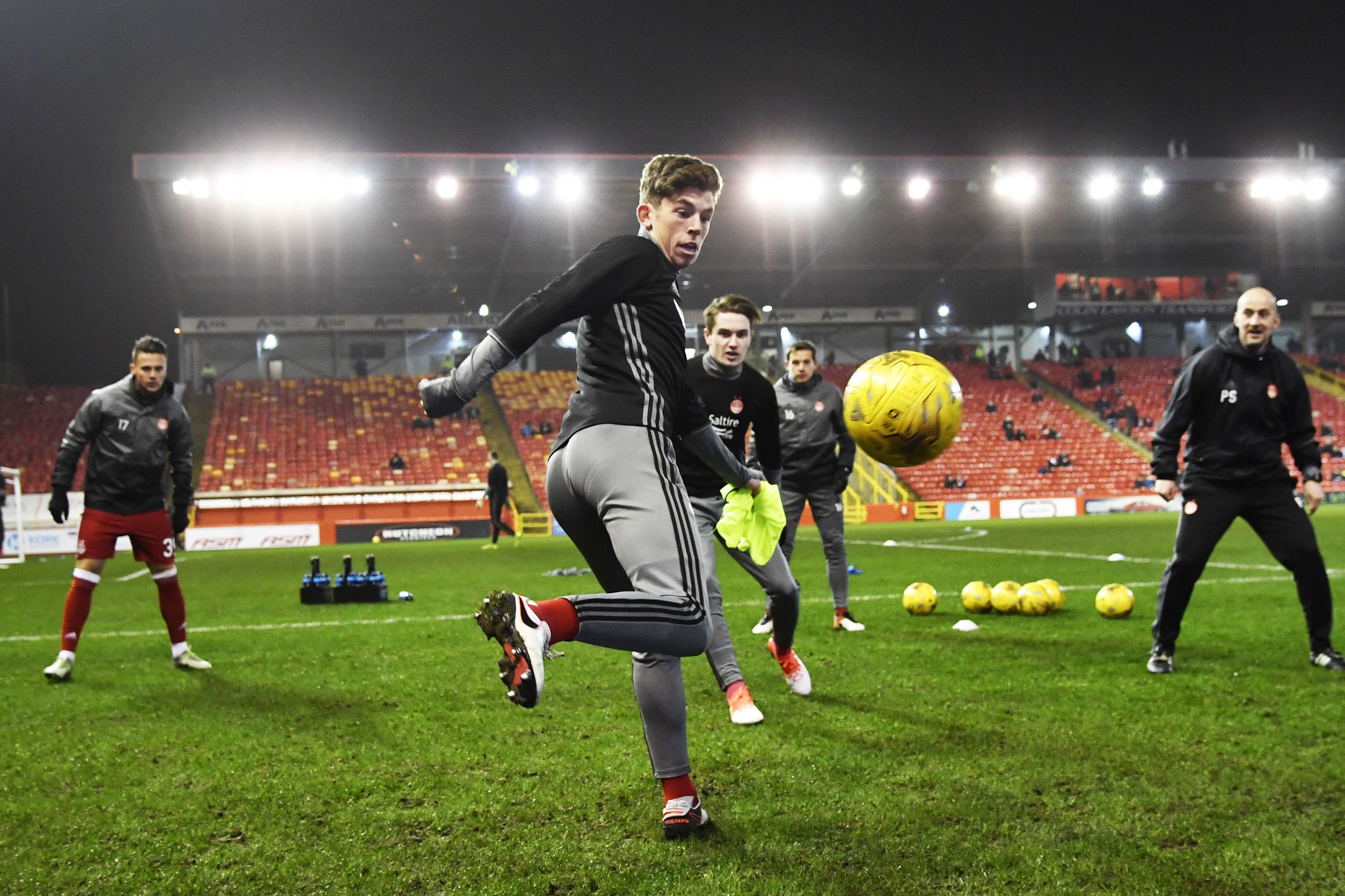 Graeme Shinnie is backing Ryan Christie, above, to make an impact at Aberdeen.