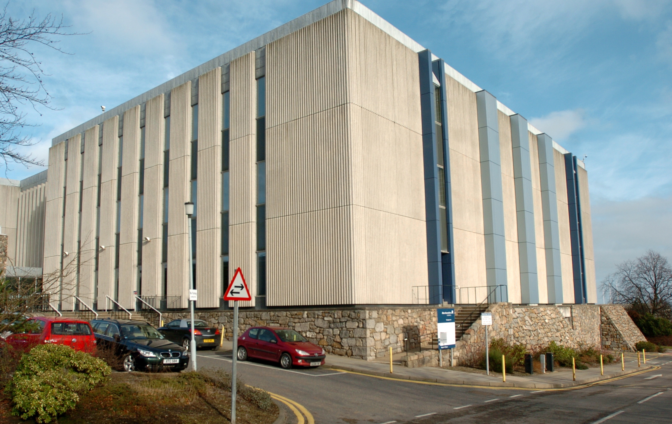 Aberdeenshire Council headquarters.
