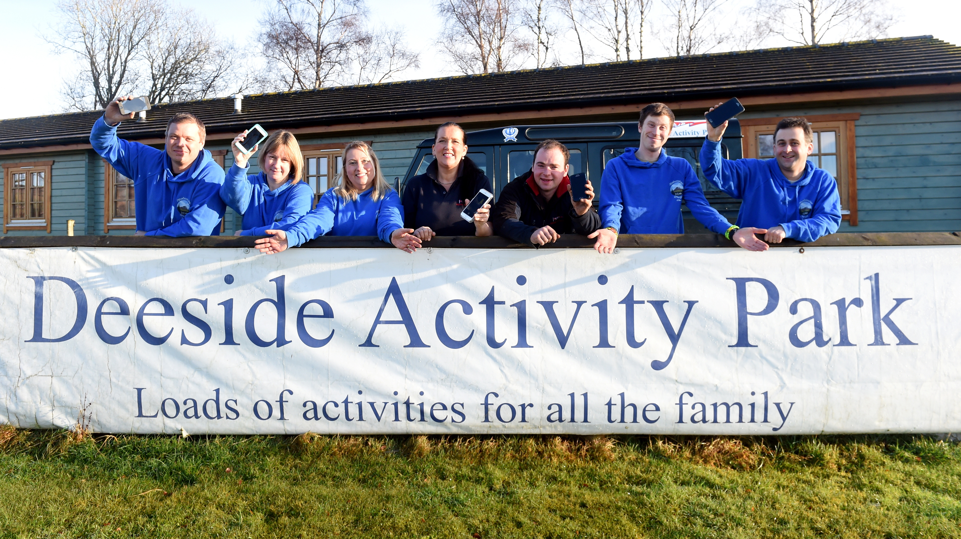 Deeside Activity Park will host the event.