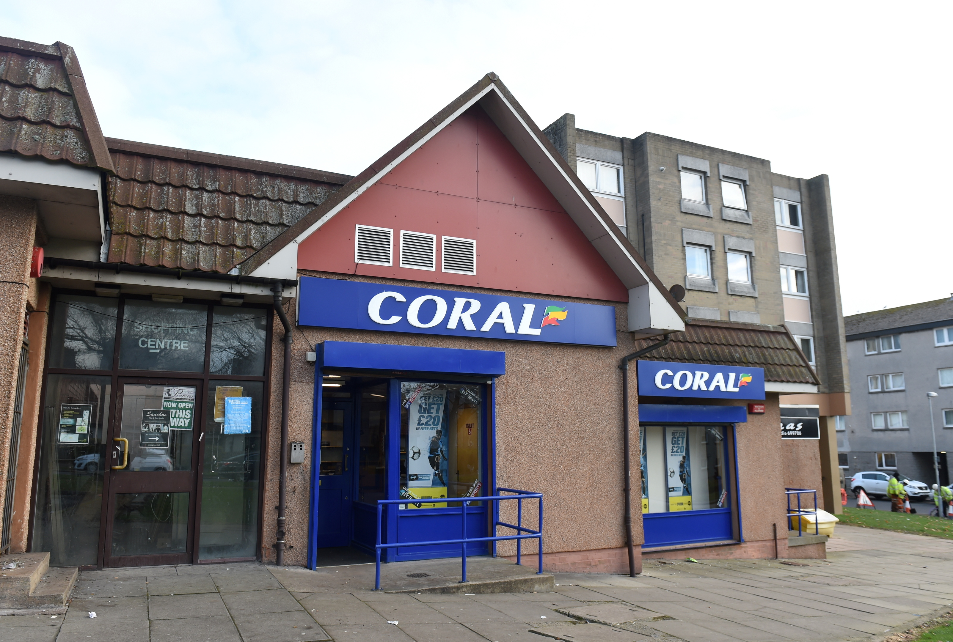 The pair stole £2,800 from a branch of Coral Bookmakers at the Cornhill Shopping Arcade in Aberdeen in October 2016