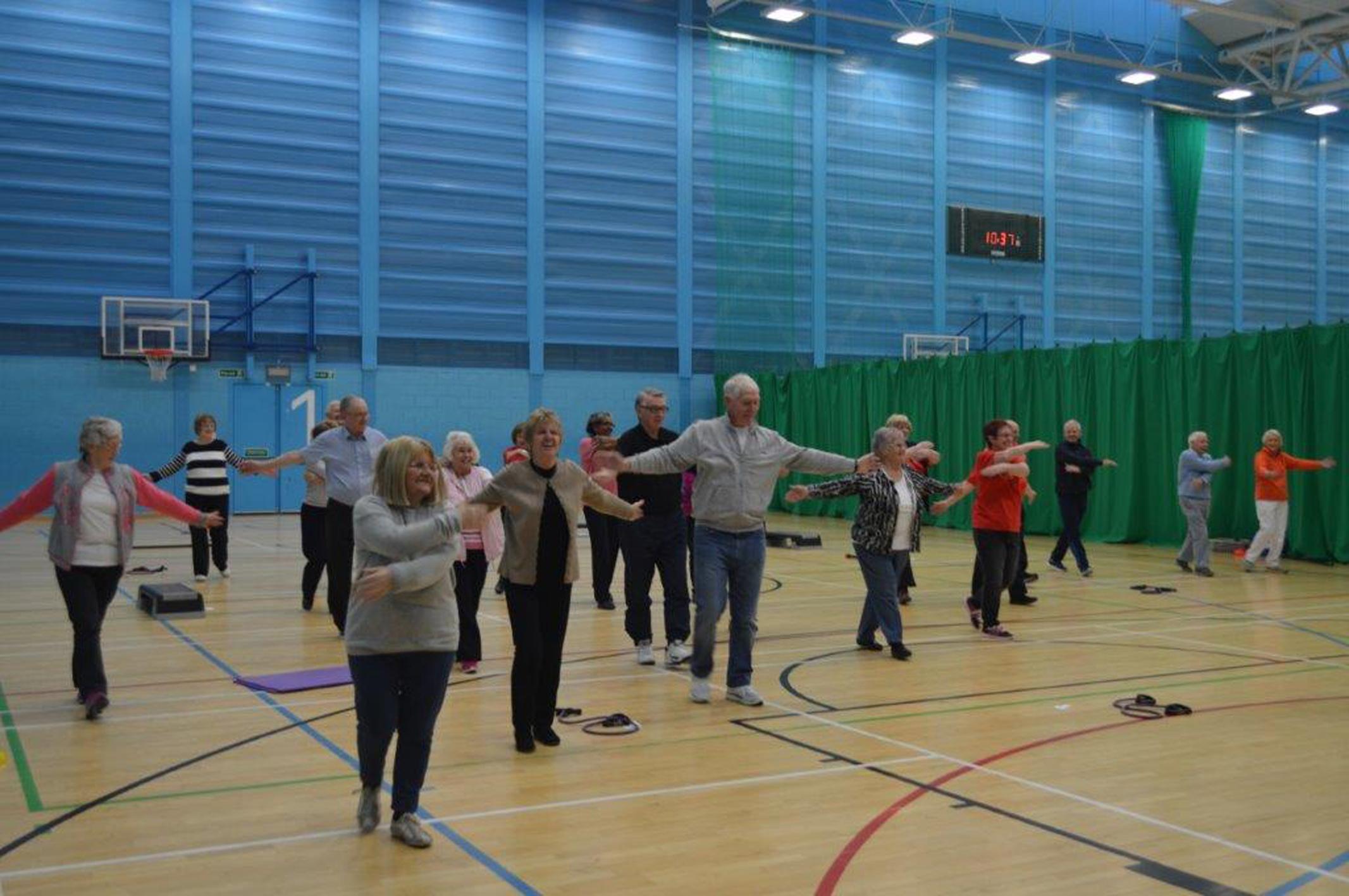 Activities at Aberdeen Sports Village.