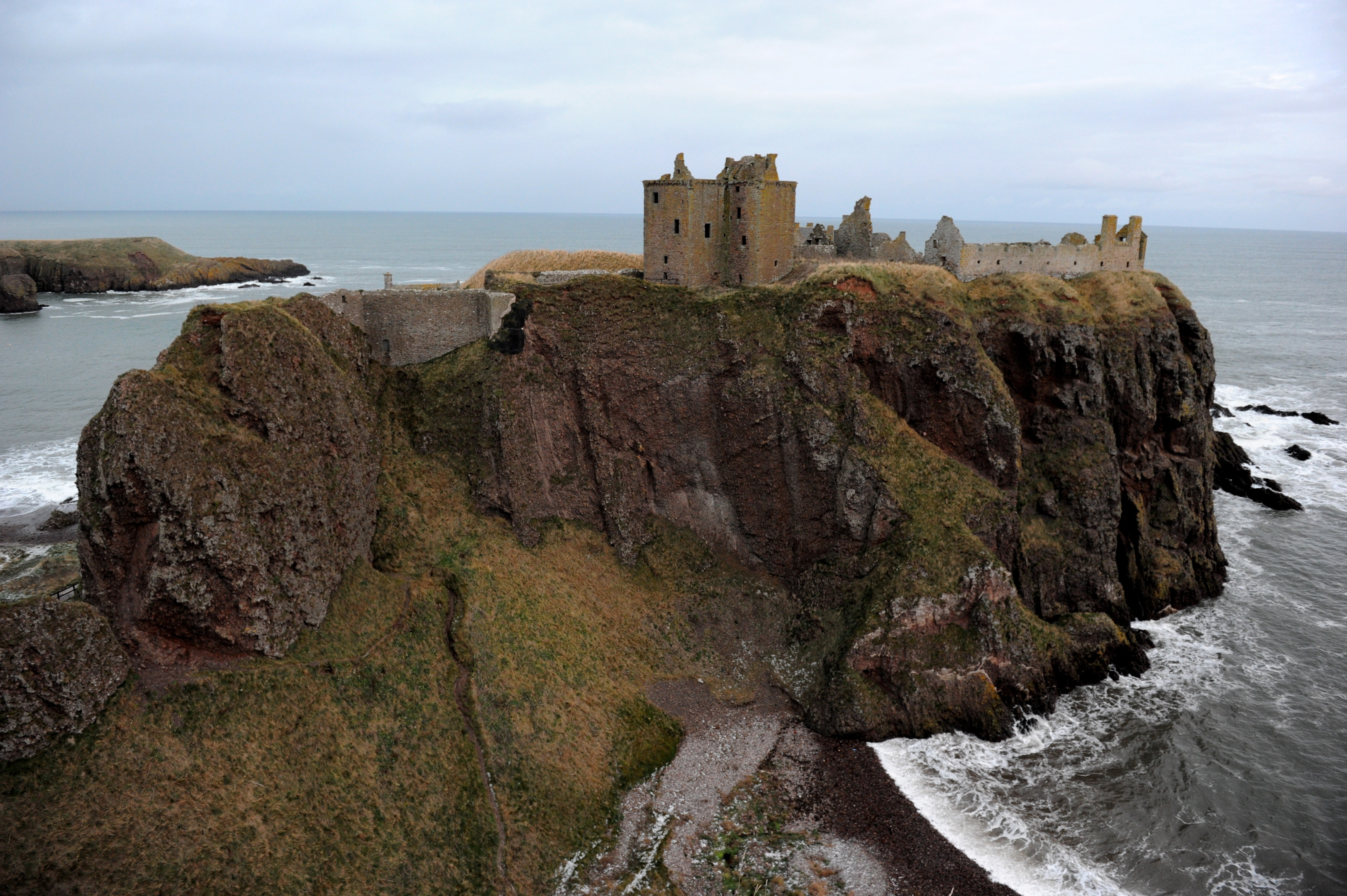 Thousands flock to visit Stonehaven's Dunnottar Castle every year.