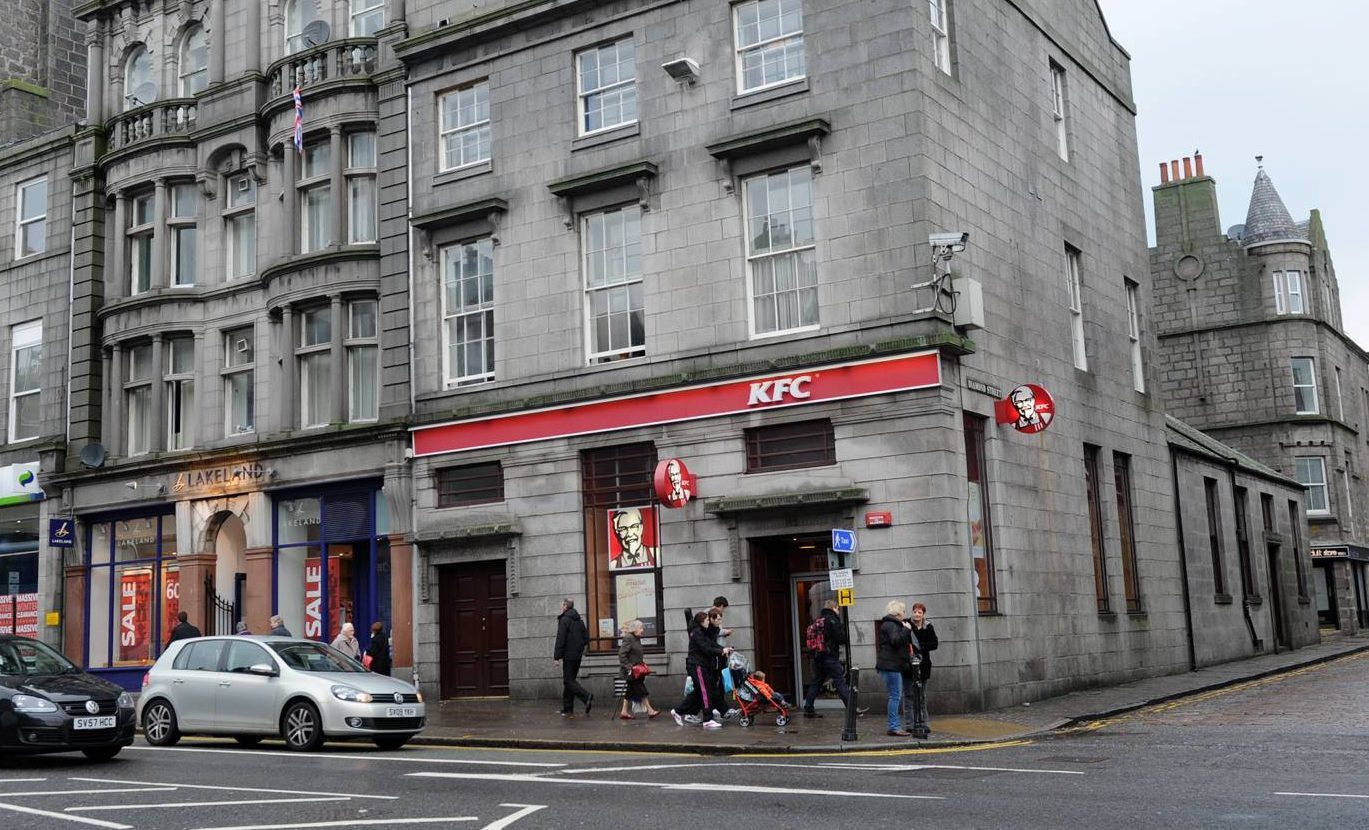 Workers at the KFC on Union Street were underpaid.