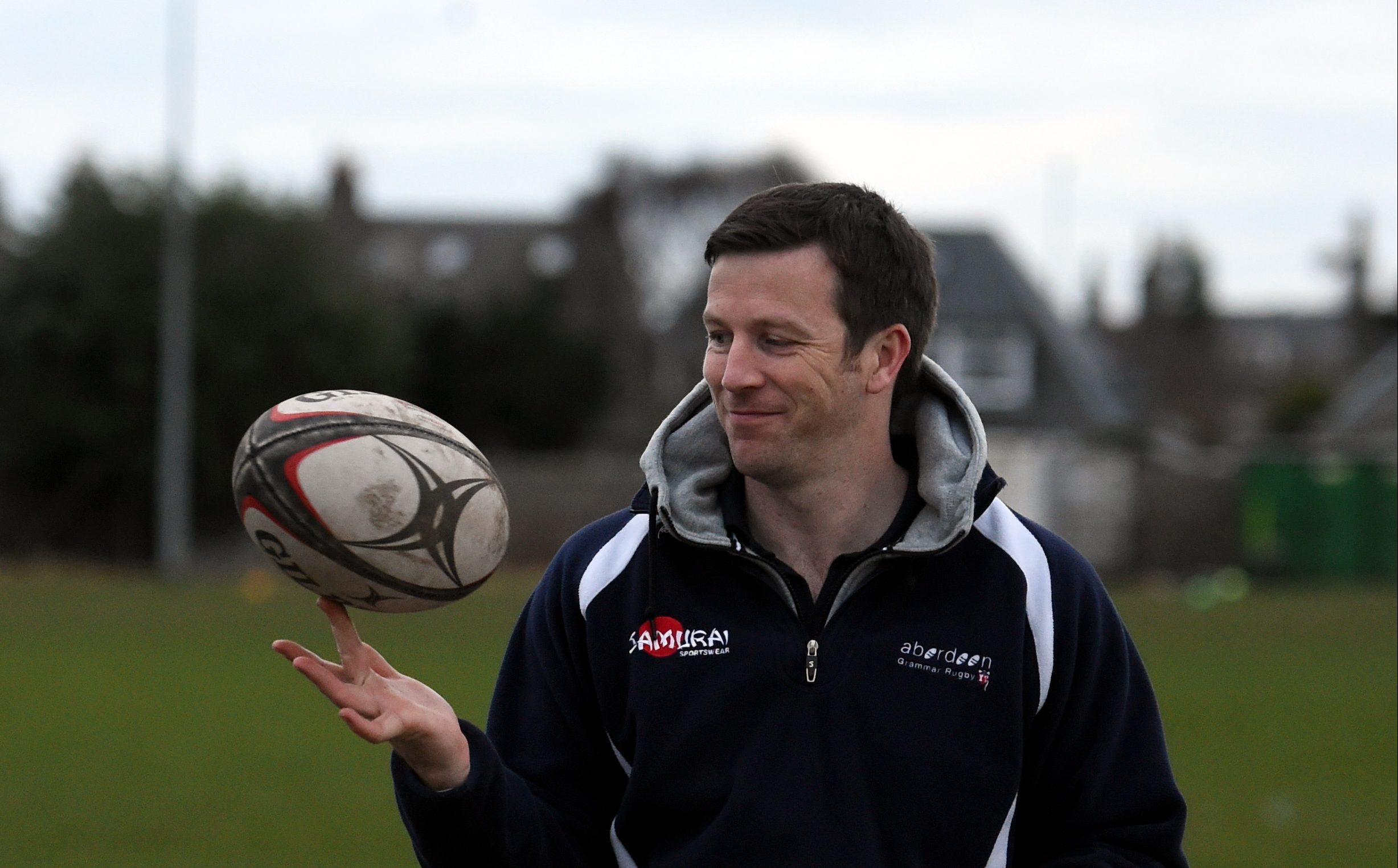 Aberdeen Grammar head coach Ali O'Connor