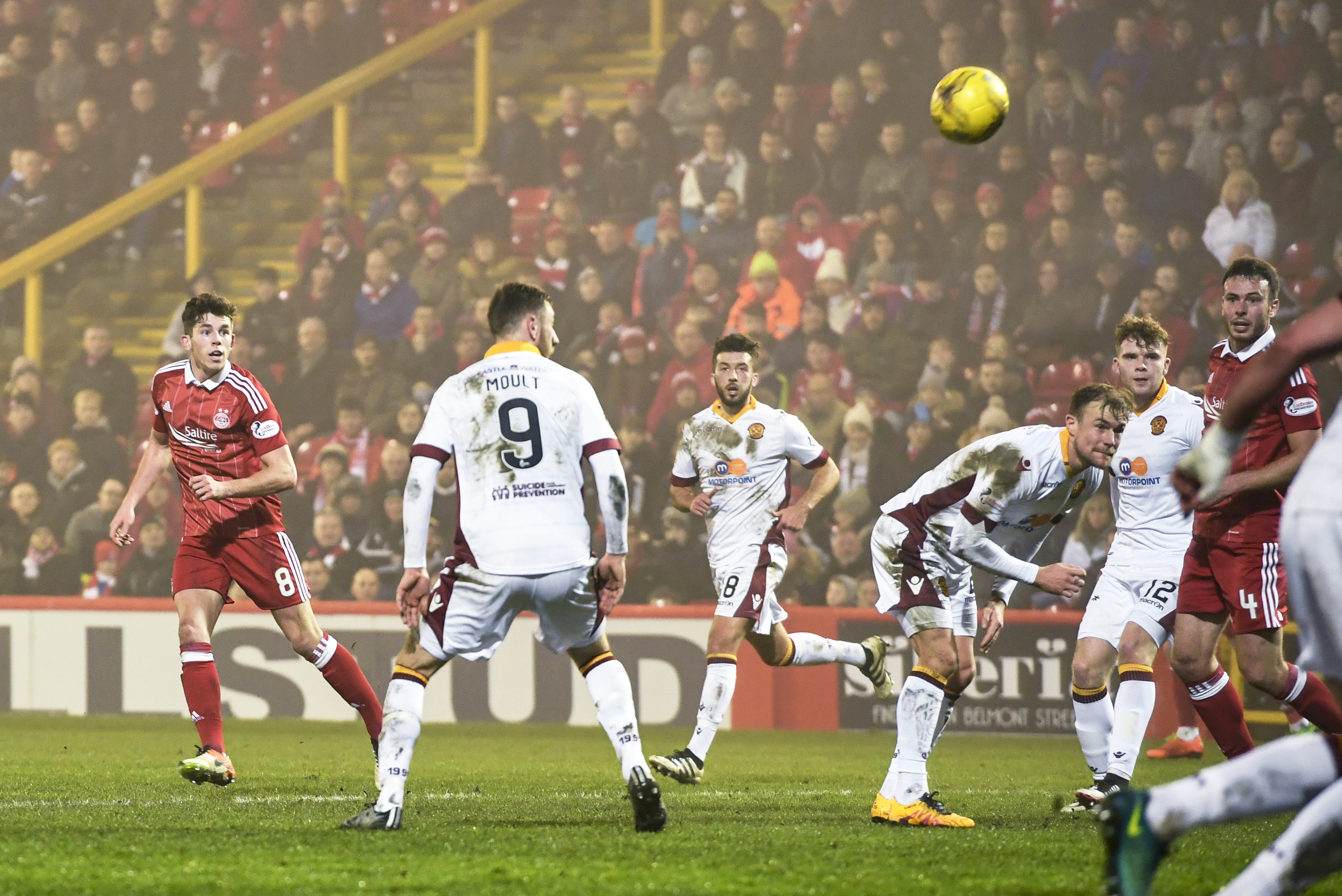 Ryan Christie finds the net against Motherwell with a wonder-strike.