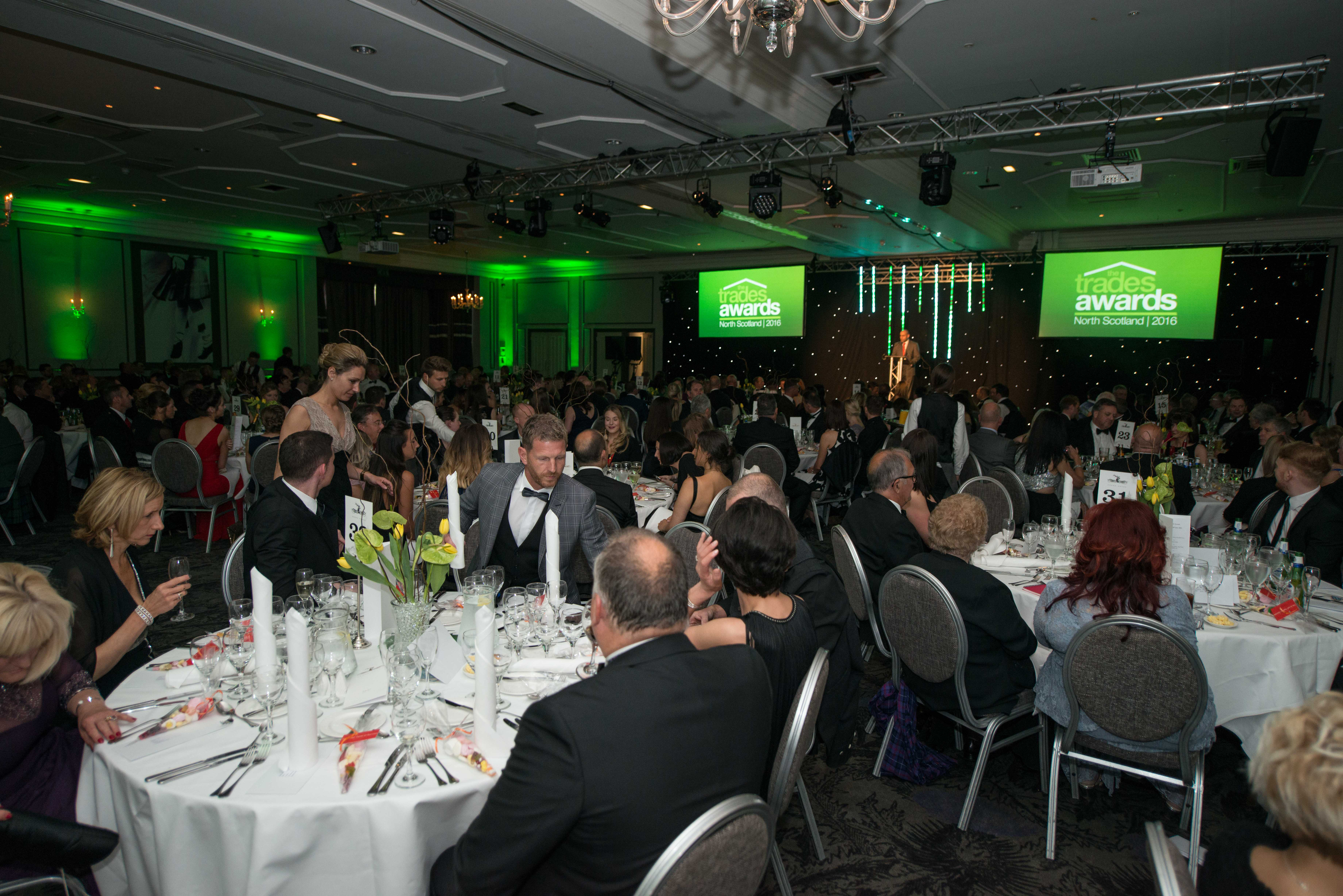 Guests at last year's Trades Awards ceremony.