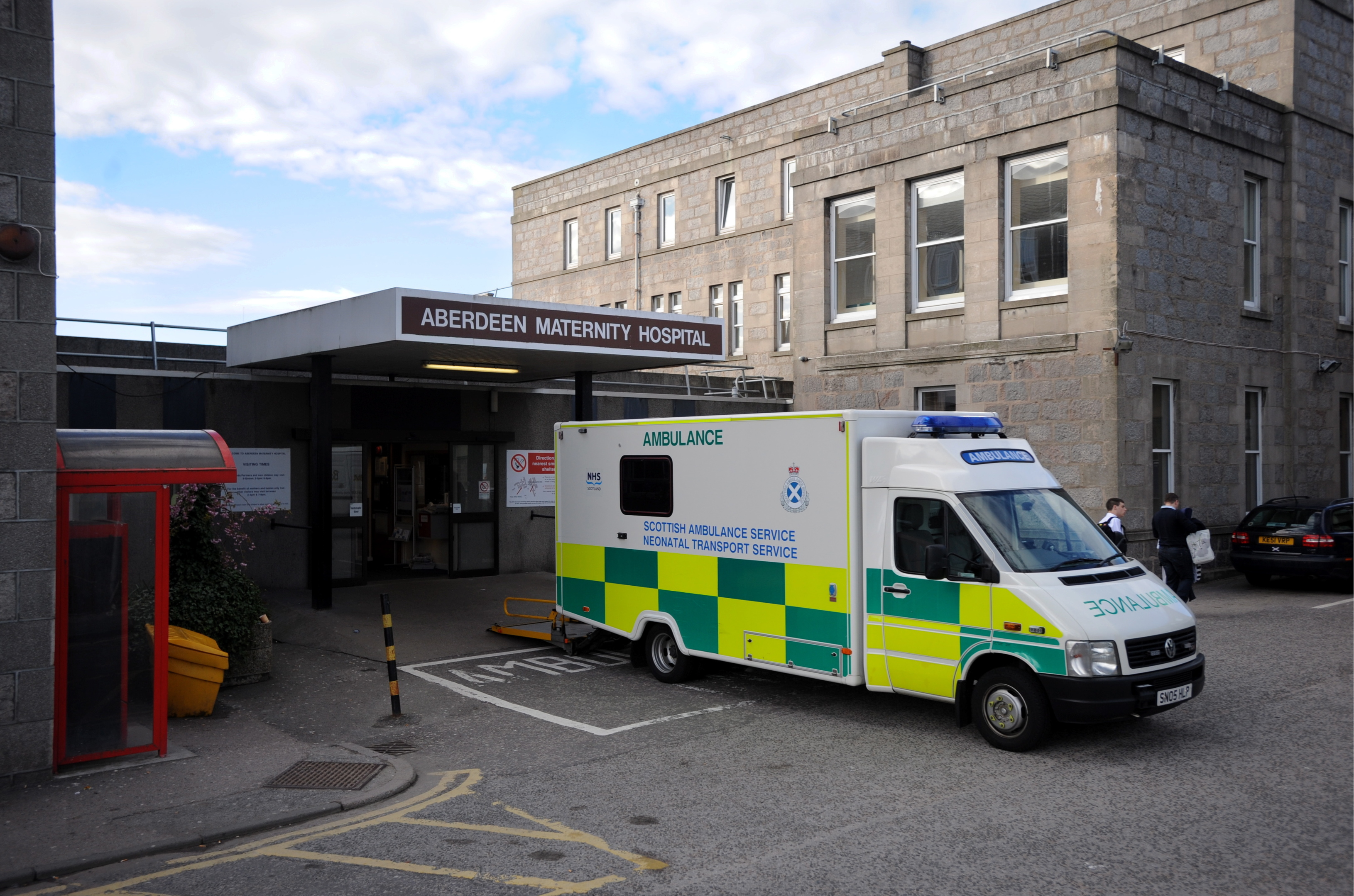 Two units at Aberdeen Maternity Hospital were merged for four months.