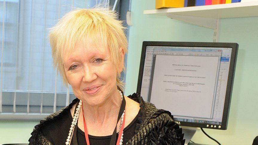 Dr Jane Morris works at  the Eden Unit offering support to those with eating disorders.