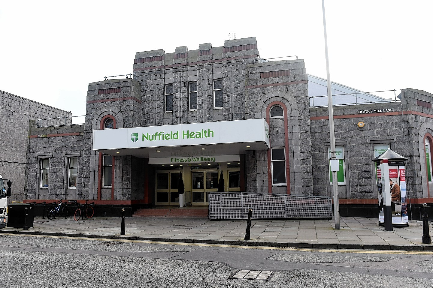 Nuffield Health Club on Justice Mill Lane