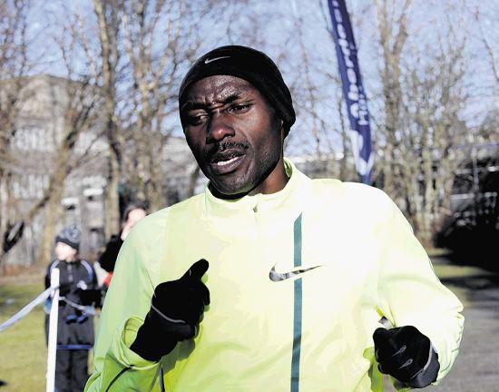 Gideon Gathimba is one of the three athletics stars heading north.