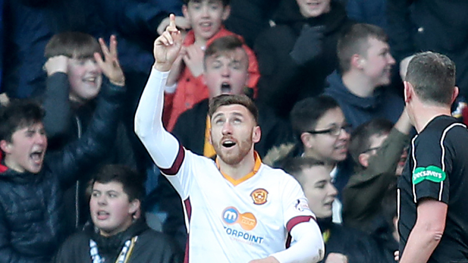 Aberdeen's summer signing target Louis Moult netted a brace against the Dons