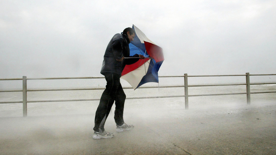 The Met Office has issued a weather warning as strong winds are expected