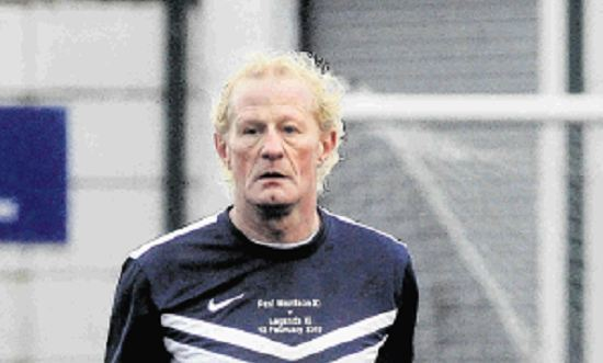 Colin Hendry playing on Sunday.
