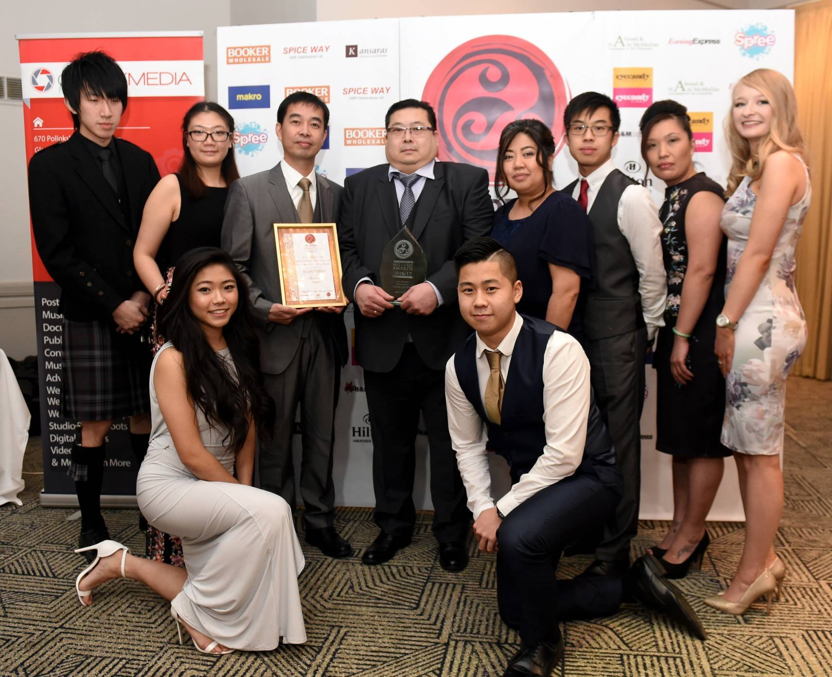 Pictured is the winner of Best Chinese Restaurant: Manchurian.