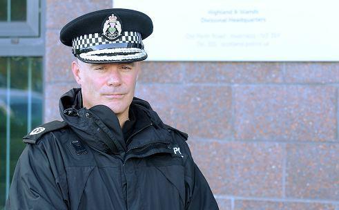 Assistant Chief Constable Bernard Higgins.
